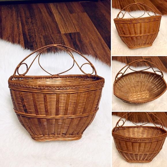 🦋2/$10 3/$15 4/$18 5/$20 Vintage Boho Basket